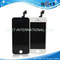 Venta caliente teléfono celular de pantalla lcd para el iphone asamblea 5s con digitalizador, la mejor calidad!