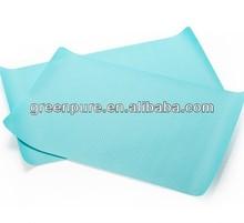 customized colorful EVA plastic anti-slip shelf liner,kitchen drawer liner,place dinner mat
