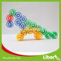 Los niños de conexión de plástico bloques de juguetes con el mejor precio, educativos de madera juguetes de bricolaje/puzzles/rompecabezas bloques de camiones le. Pd. 015