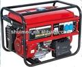 3kw 6.5hp generador de la gasolina, 3kw generador de hecho en china, la llave de arranque del generador de la gasolina