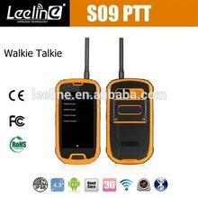 S09 NFC PTT military best windows mobile phone 2011,waterproof Smartphone android IP68 Waterproof Dustproof Shockproof