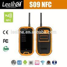 S09 NFC PTT waterproof windows smartphone at&t,waterproof Smartphone android IP68 Waterproof Dustproof Shockproof