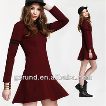 2014 spring new European style simple casual alibaba dress/girls dress china wholesale/lady woman dresses clothing model-m118