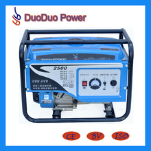 BV CE ISO passed 2KW gasoline generator low price, low noise, low fuel consumption