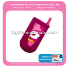 2014 hot sale Lovely Plastic Musical toy mobile phone for kids