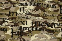 land print camouflage fabric