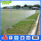 Pvc coated Galvanized chain link fence poles Prices