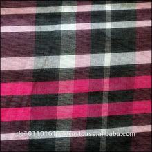 Yarn dyed silk cotton fabric /silk cotton organza fabric