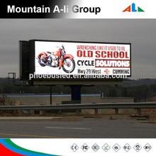 16x16 dots outdoor p10 video led billboard