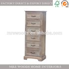 ffrench antique reclaimed vintage wooden furniture bedroom nightstand corner table