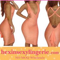 New design maxi ladies 2012 hot bandage dress