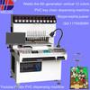 vision function automatic liquid silicone label dispensing machine