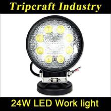 Good quality 4 inch 24W LED WORK LIGHT 12v 24v LED tarctor Working Lights,used 4x4,motocycle,boat