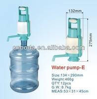 hand pump 5 gallon plastic water bottle