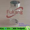 170cc clear tattoo supplies medical plastic jar PET pharmaceutical plastic container with aluminum lid