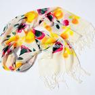 custom design dubai muslim print lady scarf