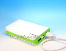 2014 Hot portable power banks 6000mAh for smartphone
