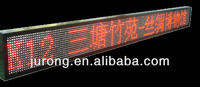Hot!!Rolling LED sign for showing destination and route number