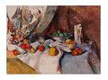 الديكورات المنزلية الشهيرة لا تزال الحياة لوحة زيتية الفاكهة