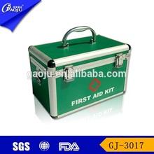 Aluminium material big volume family first aid kit bag