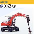6 t pequeño tamaño de múltiples funciones de excavadora con tierra de la máquina