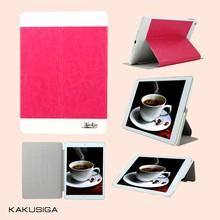 Kaku new product universal sublimation smart leather for ipad mini 2 with retina case