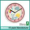 12 Inch Quartz Plastic Wall Egg and Rabbit Clock/digital picture wall clock