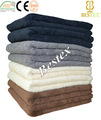 Qualidade 100% algodão secagem rápida Anti - bleach Terry toalha salão