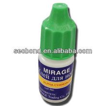 5g plastic bottle packing super glue 502 cyanoacrylate adhesive