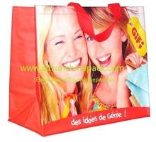 pp woven wholesale reusable shopping bag