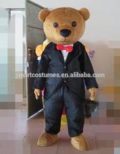 Lightweight teddy bear mascot costume adult bear costume