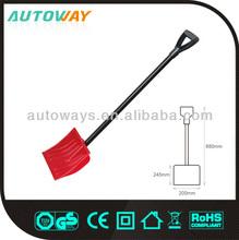 Length 88cm plastic snow shovel (aluminium tube)