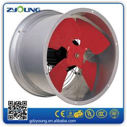 Basement window exhaust fan/outdoor exhaust fan
