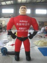 Hot selling lifelike custom inflatable plane models