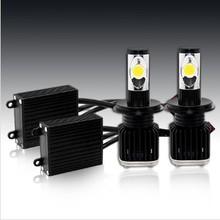 LED Car headlight H4 Hi/Low Led headlight lighting system 25w USA EMC led auto lamp CE verified led headlight H7 H4 hi lo