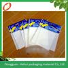 High quality custom printed self adhesive plastic OPP bag with header