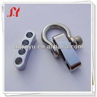 fast sale metal suspender adjuster buckle for survival bracelet