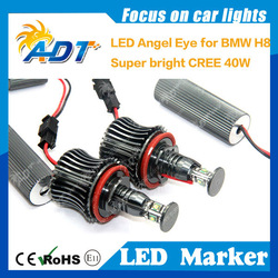 News! for USA CR LED Angel Eyes for BMW LED Headlights auto parts car accessories