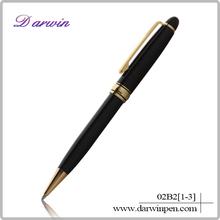 Gift customized logo high quality ballpoint pen metal