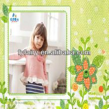 hot sale fashion baby dress knitte kids dress long sleeve baby dress