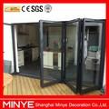 Exterior bi - diseño plegable plegable de la puerta de entrada de la puerta / slider bi - plegable