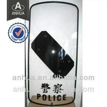 high impact police plastic anti-riot shield