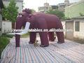 Gigante inflable elefante/elefante inflable modelo