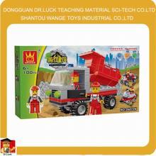 City Construction truck Block Set girls building toys for boy