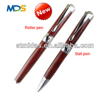 Promotional gift pen, 2014 new design pen set / exclusive metal ballpoint pen with box MDS-B2031b red set new