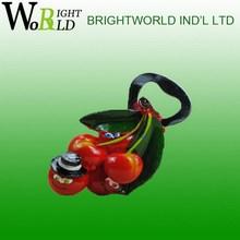 Hot selling branded tree shape fruit fridge sticker