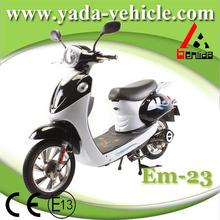 yada em23 48v 450w brushless PMDC 12ah lead-acid drum brake 16inch electric motorcycle China