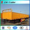 axle side wall semi trailer for sale