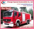China camión de bomberos militares, camiones 6*4 extintor de incendios, la lucha contra incendios de vehículos