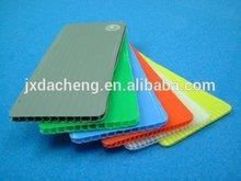 Coroplast fire retardant plastic pp sheet